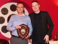 2nd XI player of the year Steve Conway with Danny Clark